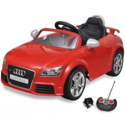 Audi TT RS Samochód dla dzieci z pilotem Czerwony