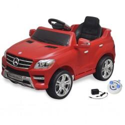 Samochód elektryczny dla dzieci Czerwony Mercedes Benz ML350 + pilot