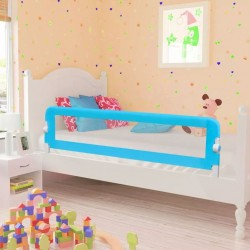 Barierka ochronna do łóżka, 150 x 42 cm, niebieska