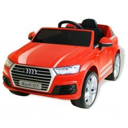stradeXL Elektryczny samochód dla dzieci, Audi Q7, czerwony, 6 V