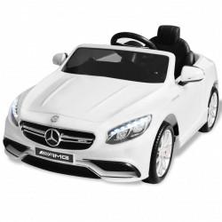 stradeXL Samochód elektryczny dla dzieci, biały Mercedes Benz AMG S63