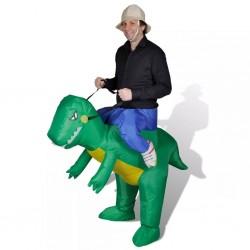 Dinozaur, dmuchany kostium
