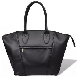 Czarna kwadratowa torebka