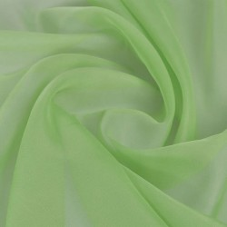 Voile Fabric 1.45 x 20 m Green