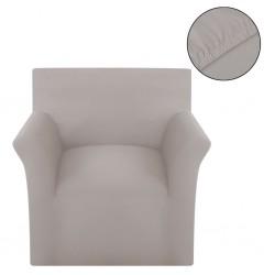 stradeXL Elastyczny pokrowiec na sofę, bawełniany, beżowy