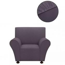 stradeXL Elastyczny pokrowiec na sofę, z dżerseju, szary