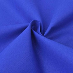 stradeXL Tkanina bawełniana 1,45 x 20 m, niebieska