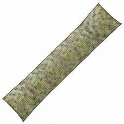 stradeXL Siatka maskująca z torbą do przechowywania, 1,5 x 7 m