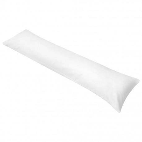 stradeXL Poduszka pod całe ciało do spania na boku, 40x145 cm, biała