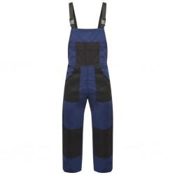 stradeXL Men's Bib Overalls Size XL Blue