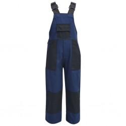 stradeXL Dziecięcy kombinezon roboczy, rozmiar 158/164, niebieski