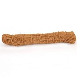 stradeXL Sznurek z włókna kokosowego, 8-10 mm, 100 m