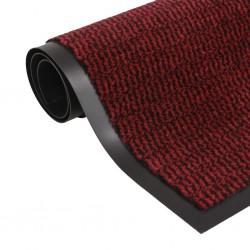 stradeXL Prostokątna wycieraczka przed drzwi 80 x 120 cm, czerwona