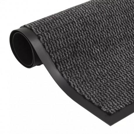 stradeXL Dust Control Mat Rectangular Tufted 90x150 cm Anthracite