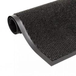 stradeXL Dust Control Mat Rectangular Tufted 120x180 cm Black