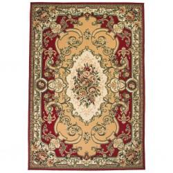 stradeXL Orientalny dywan, 120 x 170 cm, czerwono-beżowy