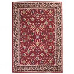 stradeXL Orientalny dywan, 140 x 200 cm, czerwono-beżowy