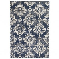 stradeXL Modern Rug Paisley Design 80x150 cm Beige/Blue