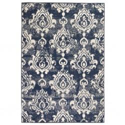 stradeXL Nowoczesny dywan, wzór Paisley, 80 x 150 cm, beżowo-niebieski