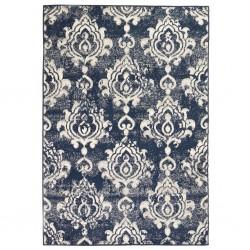stradeXL Nowoczesny dywan, wzór Paisley, 140 x 200 cm, beżowo-niebieski