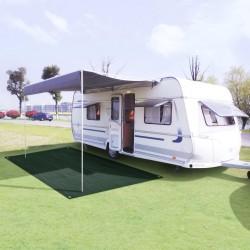 stradeXL Tent Carpet 250x400 cm HDPE Green