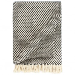 stradeXL Throw Cotton 160x210 cm Anthracite