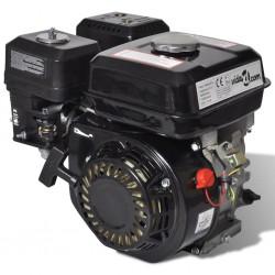 stradeXL Silnik benzynowy, 6,5 KM, 4,8 kW, czarny