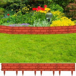 Ogrodzenie trawnika, 11 części