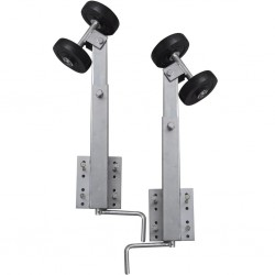 Boat Trailer Double Roller Bow Support Set of 2 59 - 84 cm