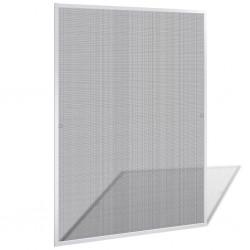 Biała moskitiera przeciw insektom 120 x 140 cm