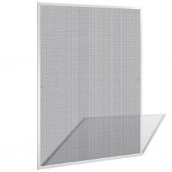 White Insect Screen for Windows 120 x 140 cm