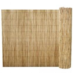 stradeXL Ogrodzenie z trzciny, 500 x 100 cm