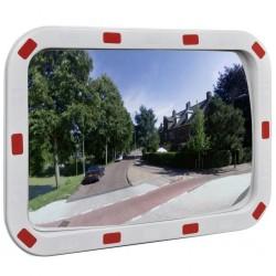 Convex lustro drogowe prostokątne 40 x 60 cm z odblaskową ramą