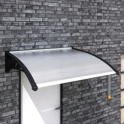 stradeXL Door Canopy 120x100 cm PC