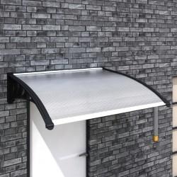 stradeXL Zadaszenie nad drzwi wejściowe, 120 x 100 cm, PC
