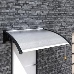 stradeXL Zadaszenie nad drzwi wejściowe, 150 x 100 cm, PC