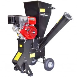 stradeXL Petrol-powered Wood Chipper with 15 HP Motor