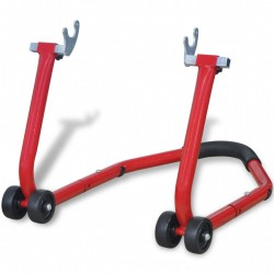 stradeXL Motorcycle Rear Stand Red