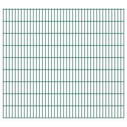 stradeXL Panel ogrodzeniowy 2D, 2,008 x 1,83 m, zielony