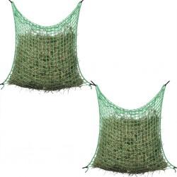 stradeXL Hay Nets 2 pcs Square 0.9x1.5 m PP