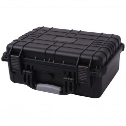 stradeXL Protective Equipment Case 40.6x33x17.4 cm Black