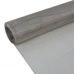 stradeXL Siatka na insekty, stal nierdzewna, 100 x 500 cm, srebrna
