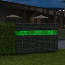 stradeXL Kamienie gabionowe 60-120 mm, 25 kg, zielone szkło
