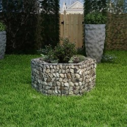 stradeXL Hexagonal Gabion Raised Bed 100x90x50 cm