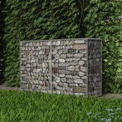 stradeXL Kosz gabionowy, stal galwanizowana, 150 x 50 x 100 cm