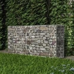 stradeXL Kosz gabionowy, galwanizowana stal, 200 x 50 x 100 cm