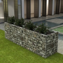 stradeXL Gabion Raised Bed Steel 360x90x100 cm