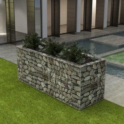 stradeXL Gabion Raised Bed Steel 270x90x100 cm