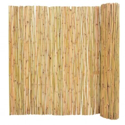 stradeXL Ogrodzenie z bambusa, 300 x 150 cm