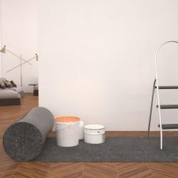 stradeXL Filcowa mata malarska, antypoślizgowa, 50 m, 280 g/m², szara